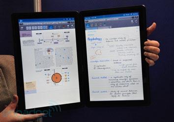Двухэкранный планшет-учебник Kno для студентов