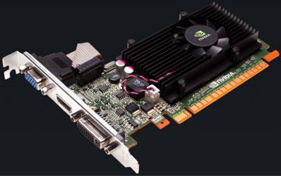 Эталонный дизайн видеокарты NVIDIA GeForce GT 520
