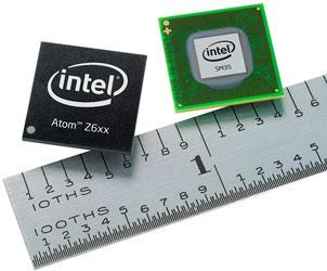 Это будет в планшетках: процессор Intel Atom Z670 и чипсет Intel SM35 Express