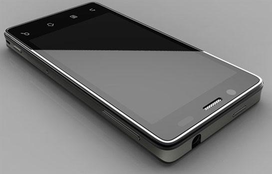 Эталонный дизайн смартфона на Intel Medfield