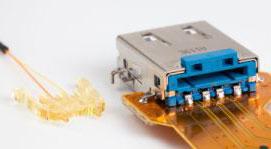 Оптика Light Peak и разъём USB