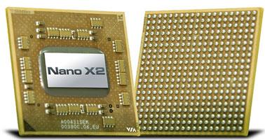 Двухъядерные процессоры VIA Nano X2