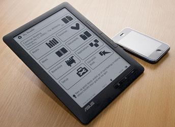 Электронная книга ASUS  Eee Reader DR900 с 9-дюймовым экраном