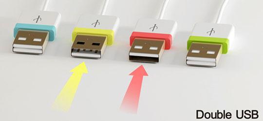 USB-разъём, который всё равно как подключать