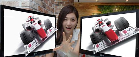 LG DX2000: первый автостереоскопический монитор готов к продажам