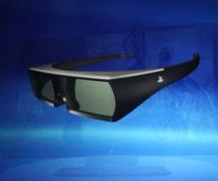 Активные затворные очки Sony
