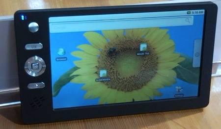 7-дюймовый планшет «Sakshat» для индийских студентов