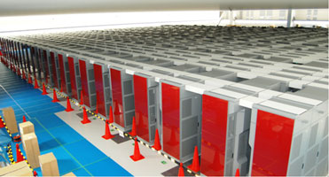 Fujitsu «K»: свыше 800 процессорных стоек