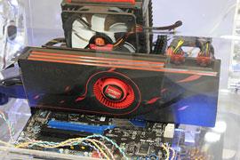 ...точнее — с AMD Radeon HD 6990