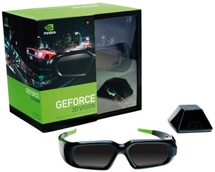 Комплект NVIDIA GeForce 3D Vision