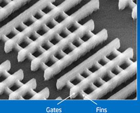 Транзисторы «Tri-Gate» на кремниевой подложке
