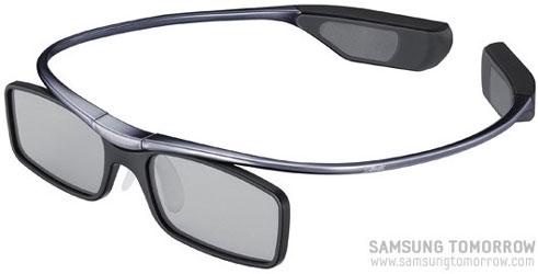 Затворные очки Samsung разработки дизайнеров Silhouette