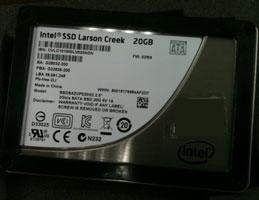 SSD Intel 311 Larson Creek в формфакторе 2,5