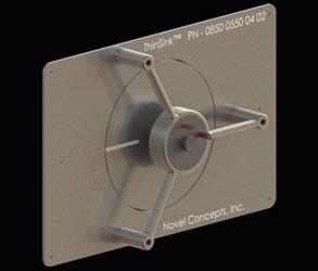 Кулер Novel Concepts ThinSink — самый тонкий и самый производительный кулер?