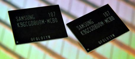 64-Гбит NAND MLC Samsung с нормами класса 20 нм
