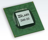 Двухъядерный процессор ZiiLABS ZMS-20 для планшетов на Android 3.0