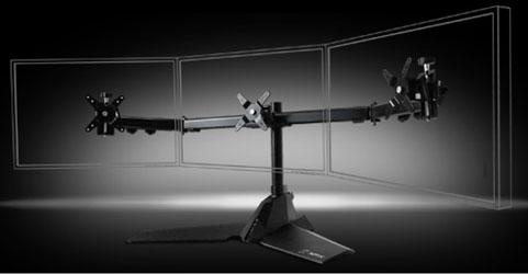 Подставка XFX Triple Display Monitor Stand под три монитора