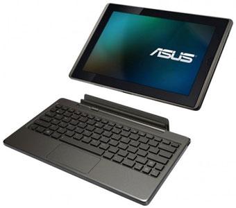 10-дюймовый планшет ASUS Eee Pad Transformer со съёмной клавиатурой