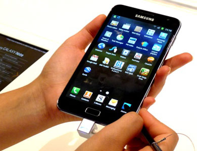 Samsung Galaxy Note — настоящий карманный планшет