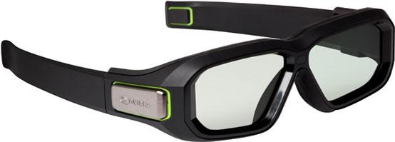 Новые активные затворные очки из комплекта NVIDIA 3D Vision 2