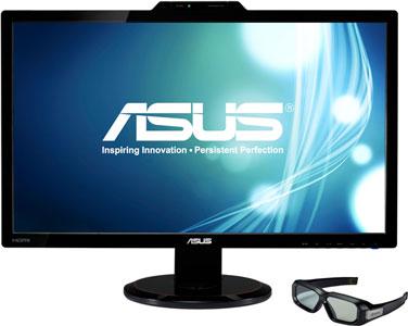 27-дюймовый монитор ASUS VG278H с очками NVIDIA
