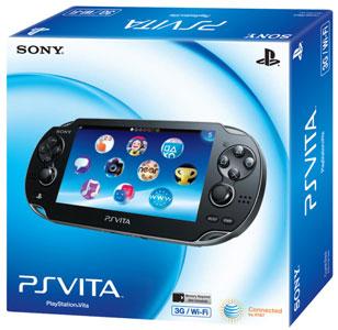 Американская версия упаковки Sony PlayStation Vita