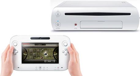 Консоль Nintendo Wii U и контроллер