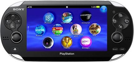 Новая карманная консоль компании Sony — PS Vita