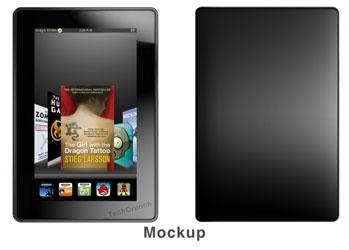 Amazon Kindle Fire — макет со слов очевидца