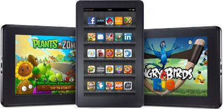 7-дюймовый планшет Amazon Kindle Fire