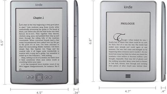 Электронные книги Amazon — 6-дюймовые модели Kindle и Kindle Touch