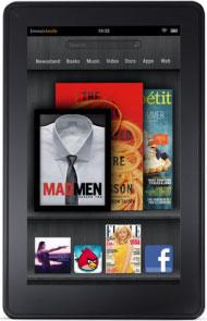 Amazon Kindle Fire — планшет-читалка на основе 7-дюймового IPS LCD