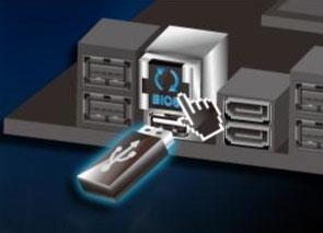 Разъём «USB BIOS Flashback/ROG Connect» для перезаписи BIOS