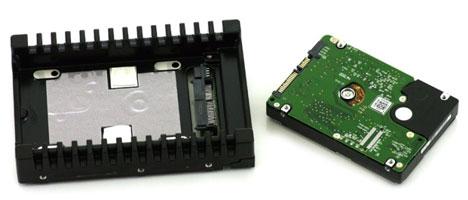 WD VelociRaptor и рамка для охлаждения