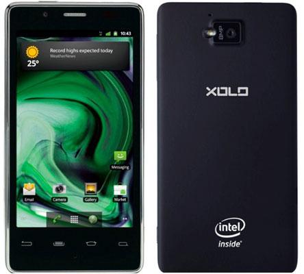 Смартфон XOLO X900 компании Lava International (платформа Intel Atom)
