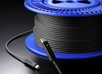 Оптические кабели Sumitomo добавят стандарту Thunderbolt гибкости