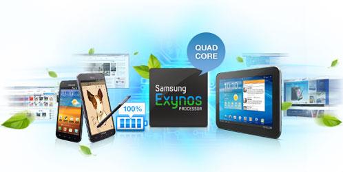Четырёхъядерный процессор Samsung Exynos 4 Quad