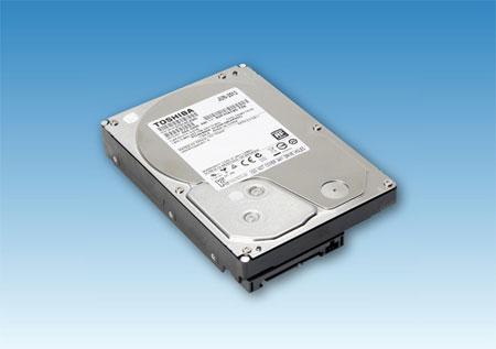 Настольные жёсткие диски Toshiba (с защитной крышечкой Hitachi)