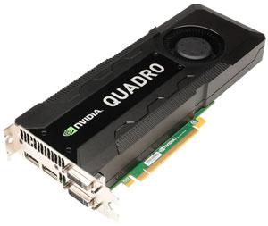 Видеокарта NVIDIA Quadro K5000 для графических рабочих станций