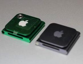 Корпуса нового и старого iPod nano