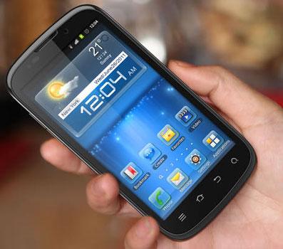 Смартфон ZTE на процессоре и модеме NVIDIA