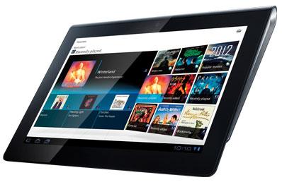 9,4-дюймовый планшет Sony Tablet S под управлением Android 3.0
