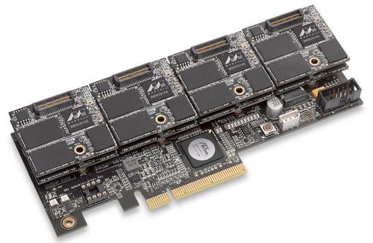 Эталонный дизайн модульного SSD компании OCZ на контроллере Marvell 88NV9145