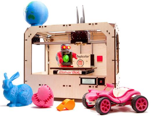 Принтер 3D-моделей MakerBot Replicator