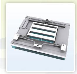 Механизм (затвор) MEMS-ячейки для каждого субпикселя экрана