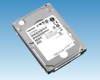 Новая линейка жёстких дисков Toshiba со скоростью вращения шпинделя 10500 об./мин.