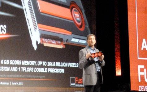 Неофициальная демонстрация Radeon HD 7990 на фоне официальной FirePro W9000