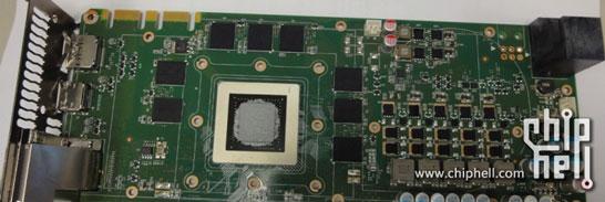 Фотография эталонной видеокарты NVIDIA GeForce на 28-нм графическом процессоре поколения Kepler