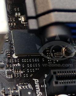 Контроллер Intel (Thunderbolt) на плате