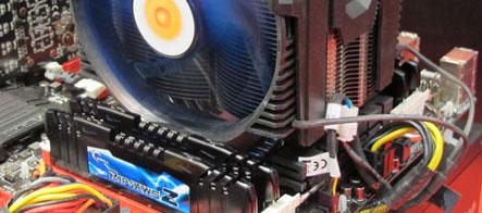 Самый быстрый на сегодня четырёхканальный комплект памяти DDR3
